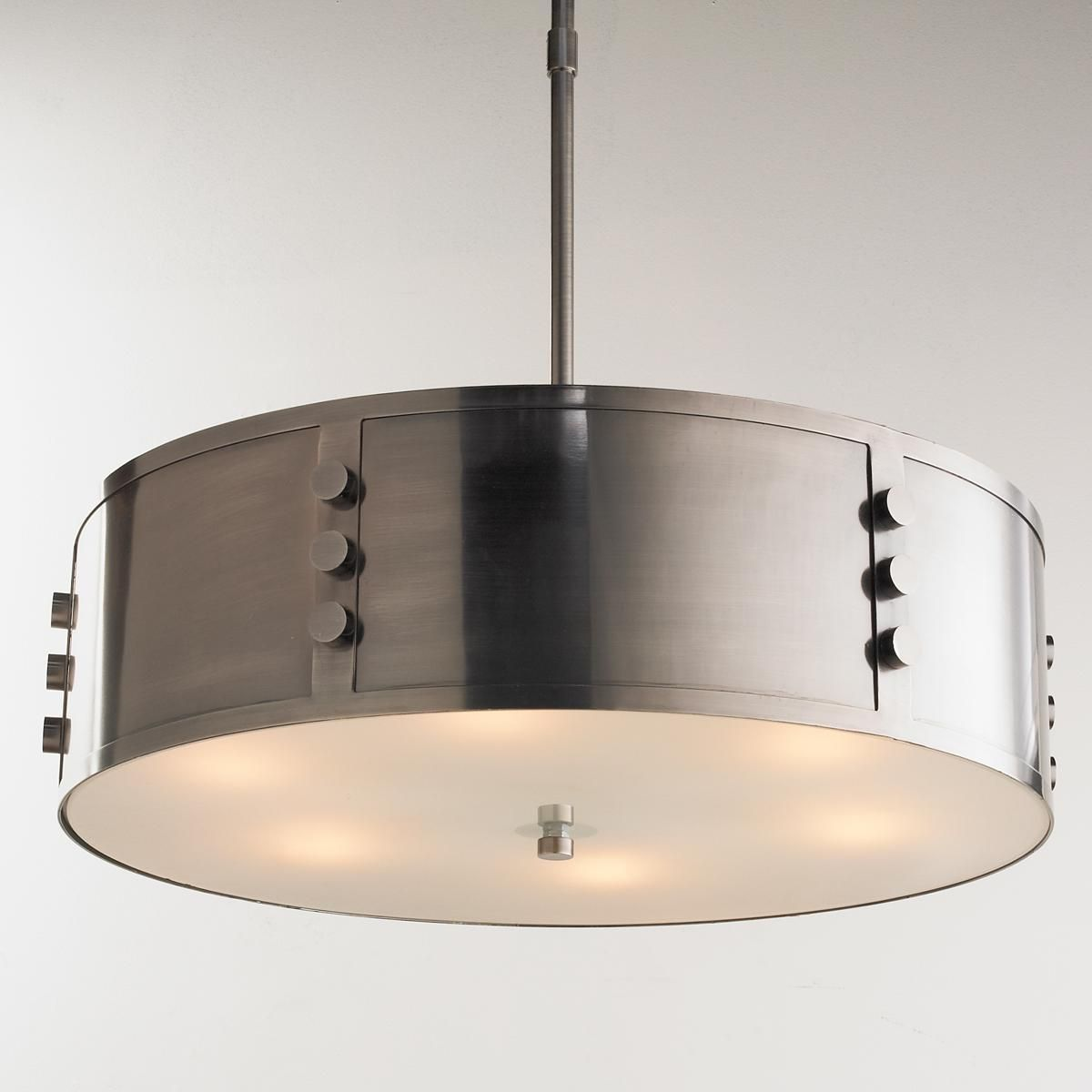 Industrial Steel Bolted Pendant Chandelier Bolted together ...