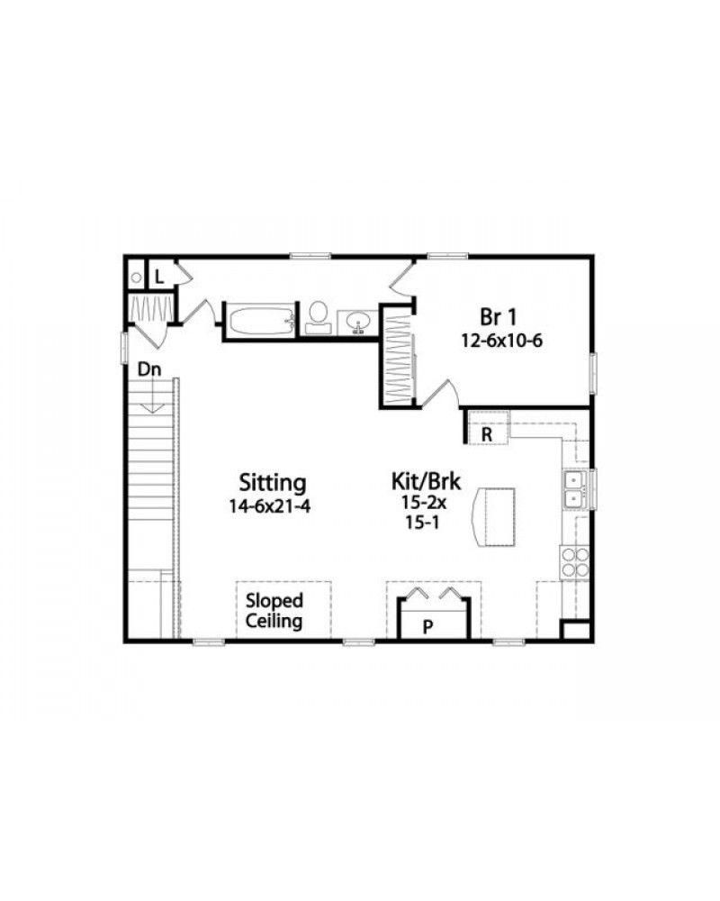 Garage Conversion Floor Plans garage conversion floor plans | house plan #rds2304 | garage