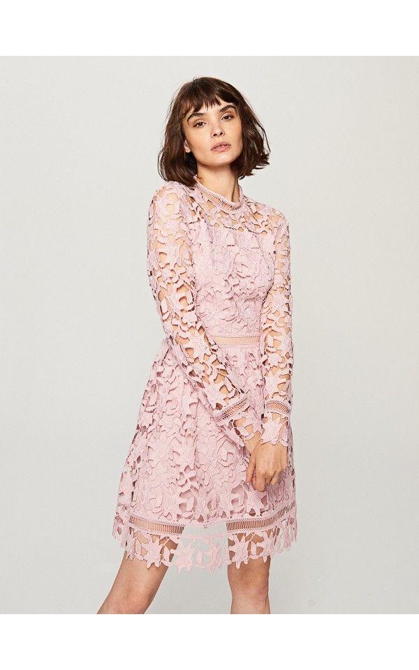 Rochie din dantelă, Rochii, roz, RESERVED   Fashion   Pinterest ... 10d0d41777
