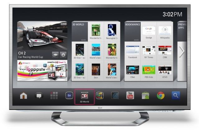 LG 3D Google TV will be launched really soon..  onto vandtab.com
