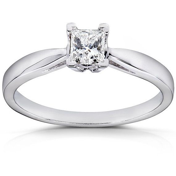 Diamond Solitaire Engagement Ring 1/4 Carat ctw in 14k by Kobelli