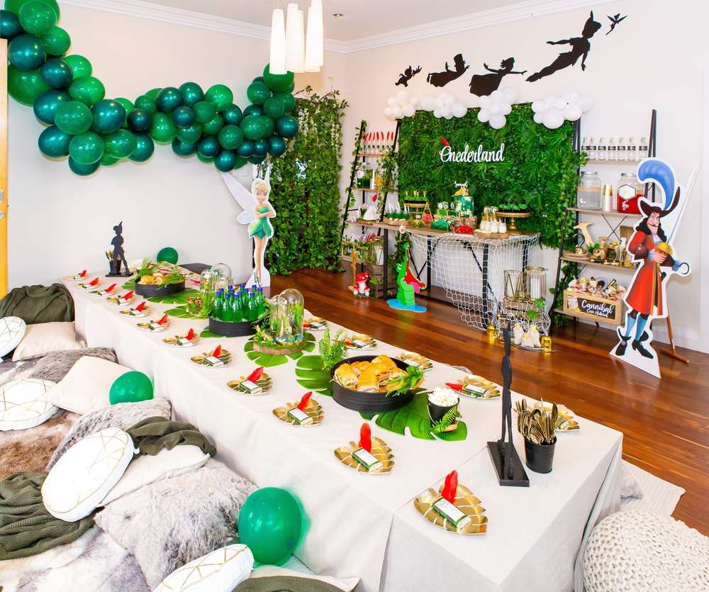 Peter Pan / Neverland Birthday Party Ideas Peter pan