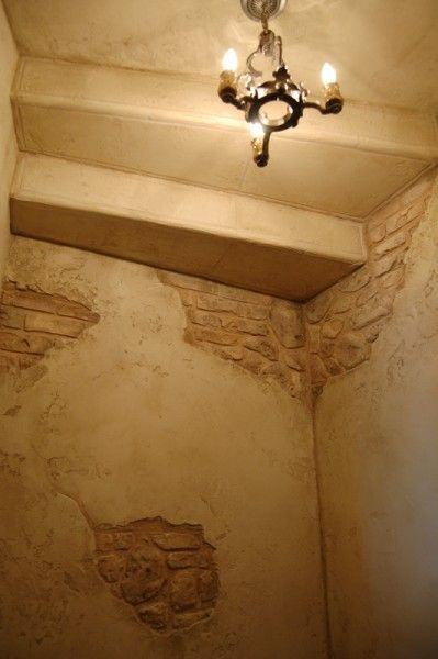 Brick And Plaster Murals Google Search Faux Brick Walls Plaster Wall Art Faux Finishes For Walls