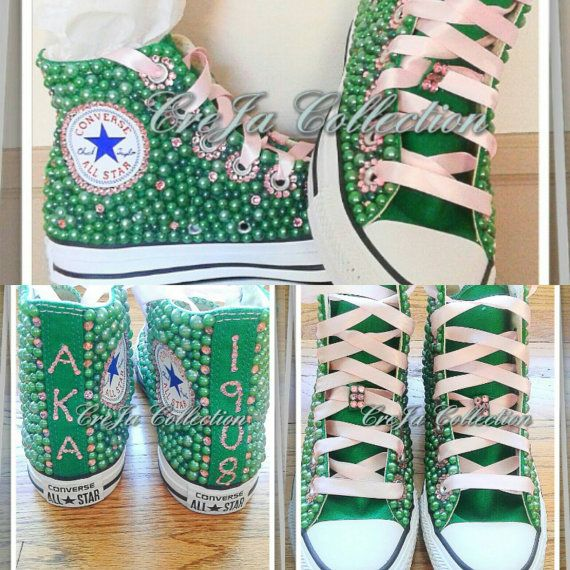 c89b8110da528 Pin by The Cre'Ja Collection on AKA Stuff in 2019 | Bling converse ...