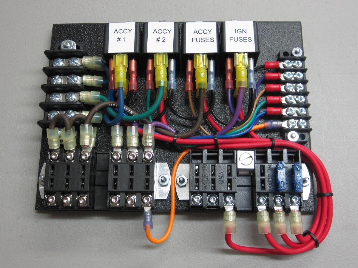 Walker Electrical Fuse Box : Dodge power center custom electronics pinterest car
