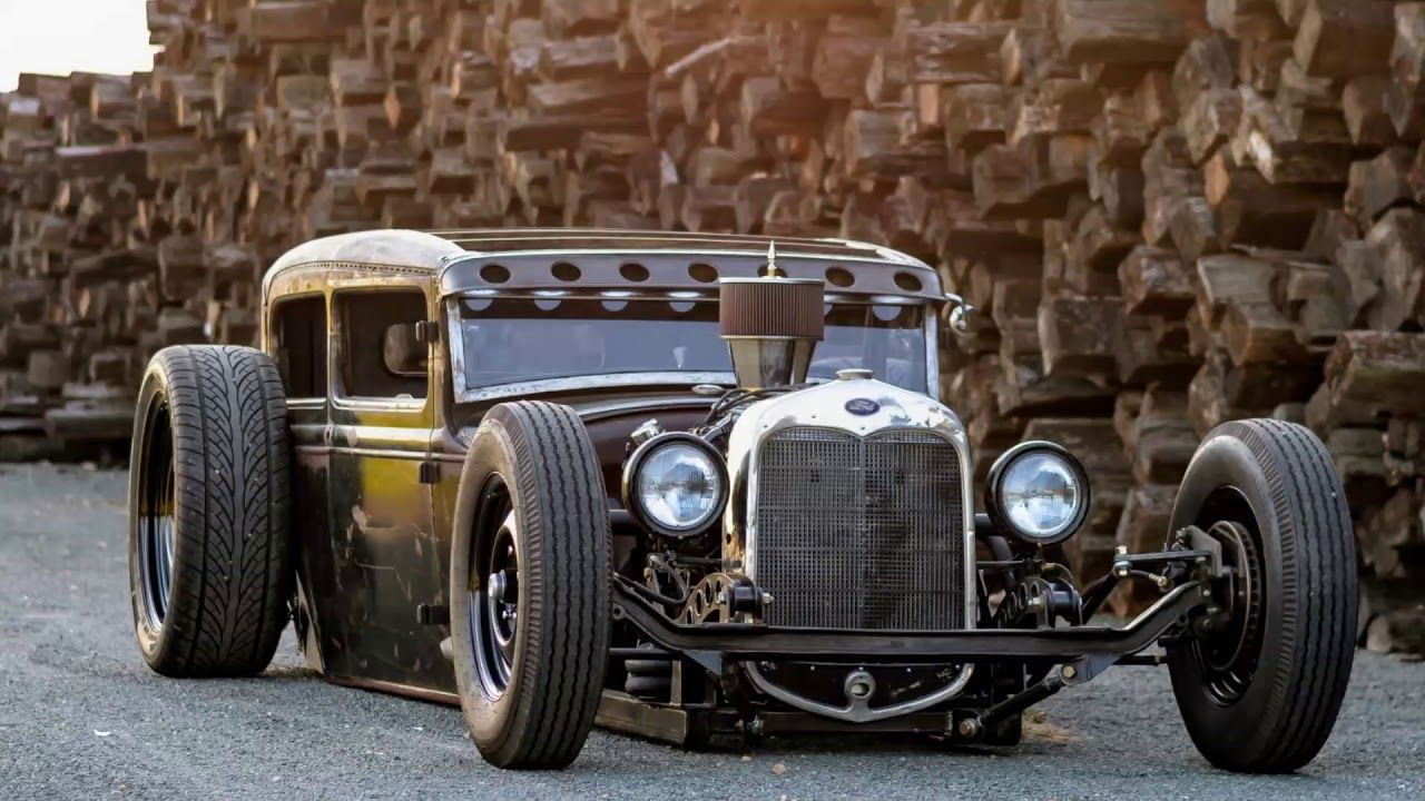 Rat Rod Monday Video Village Customs Model A Mafia Berniefest Crew