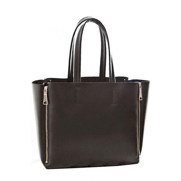LUCLUC Black Pu Zipper Shoulder Bag (2.110 RUB) ❤ liked on Polyvore featuring bags, handbags, lucluc, black bag, black zip bag, pu handbags, zipper purse and zipper bag