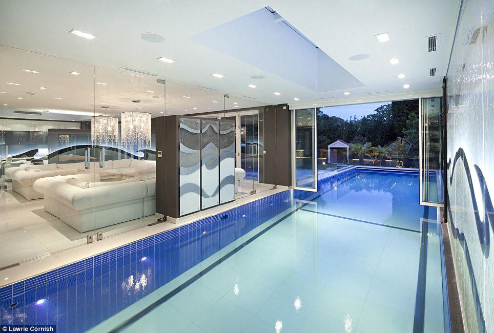 Luxury Homes With Indoor Pools For Sale Backyard Design Ideas Indoor Outdoor Pool Indoor Pool Design Indoor Swimming Pools