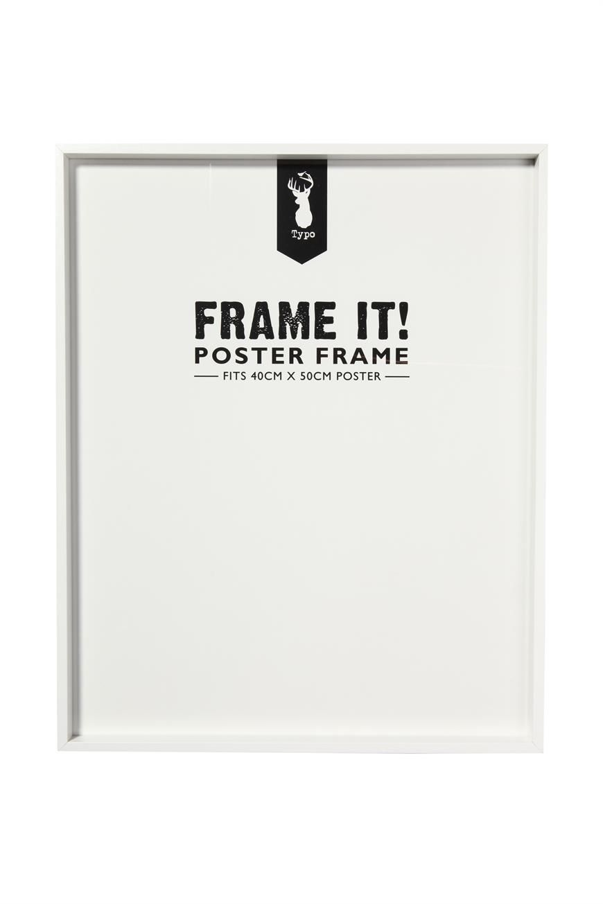 Poster frame 40x50cm from Typo (Available in black & white) | Ideas ...