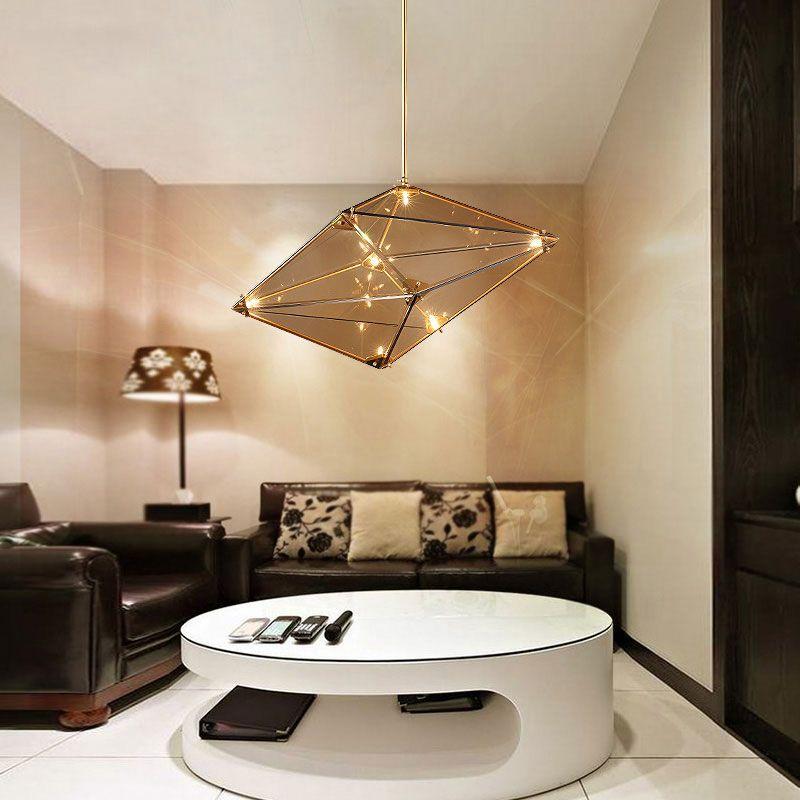 Art Diamond Pendant Light Creative Atmosphere Diamond Personality