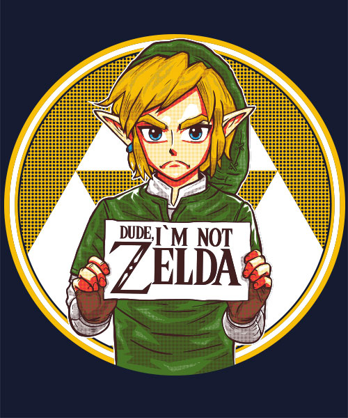 "Seriously, guys? His name is LINK. *sigh!*...Sometimes, I wish the title of the game would be ""The Legend of Link"". Yeah, I know, it's not THAT creative, but it would've avoided this mess...Don't you think?"