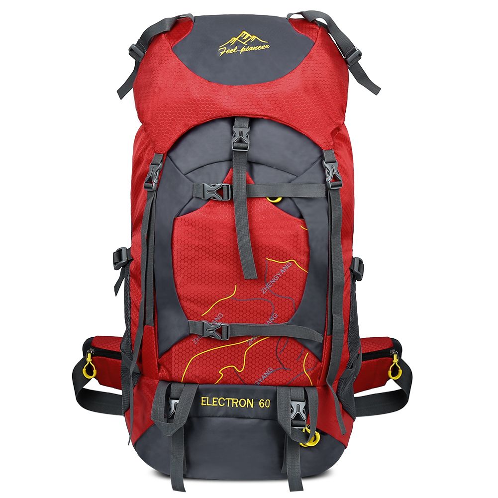 c8de1882a3 Vbiger 60L Waterproof hiking Backpacking Pack - Travel Daypack for Climbing