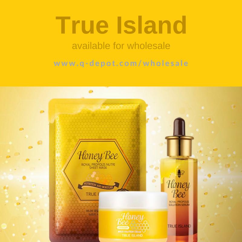 True Island Korean Cosmetics Brand Available For Wholesale