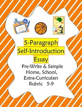 All About Me: Self-Introduction Essay 5-9 Outline, Sample, Rubric ...