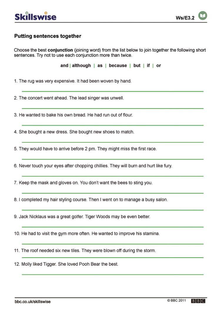 Compound Sentences Worksheet Complex Sentences Worksheets Combining Sentences Complex Sentences
