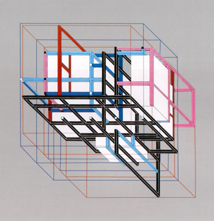 Peter Eisenman House Xi 1972 1975 Architectural Models