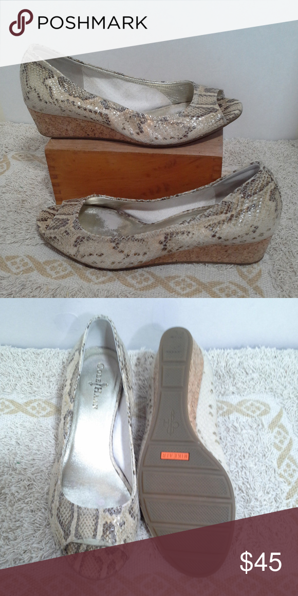 b5aaf610b8e Cole Haan shoes Size 8.5B Nike Air Elsie Beige Cole Haan women's ...