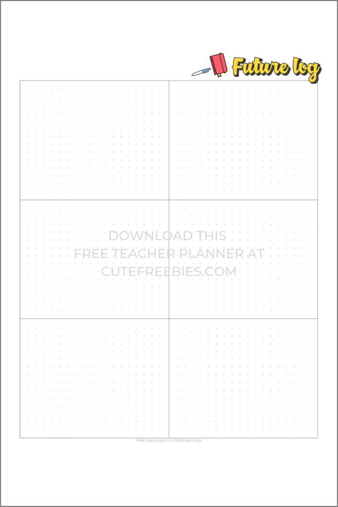 Teacher Planner For 2019-2020 - Free Printable #teacherplannerfree 2019-2020 Teacher Planner - Free Printable! - Cute Freebies For You #teacherplannerfree