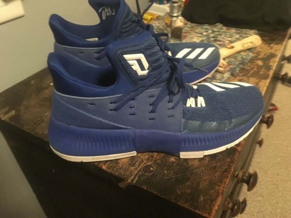Adidas Damian Lillard 3 Size 10 1 2 Fashion Clothing Shoes Accessories Mensshoes Athleticshoes Black Basketball Shoes White Basketball Shoes Adidas Dame