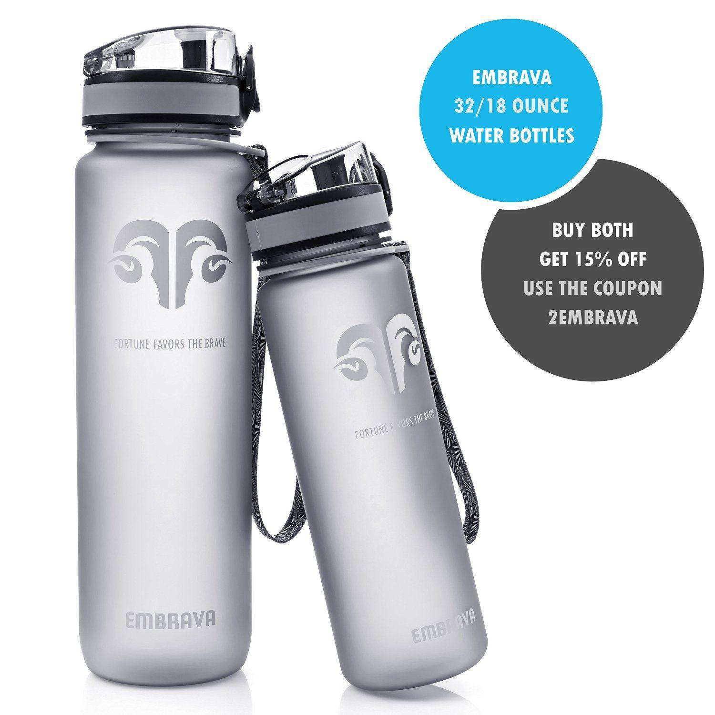 296d08d23 Best Sports Water Bottle - 32oz Large - Fast Flow