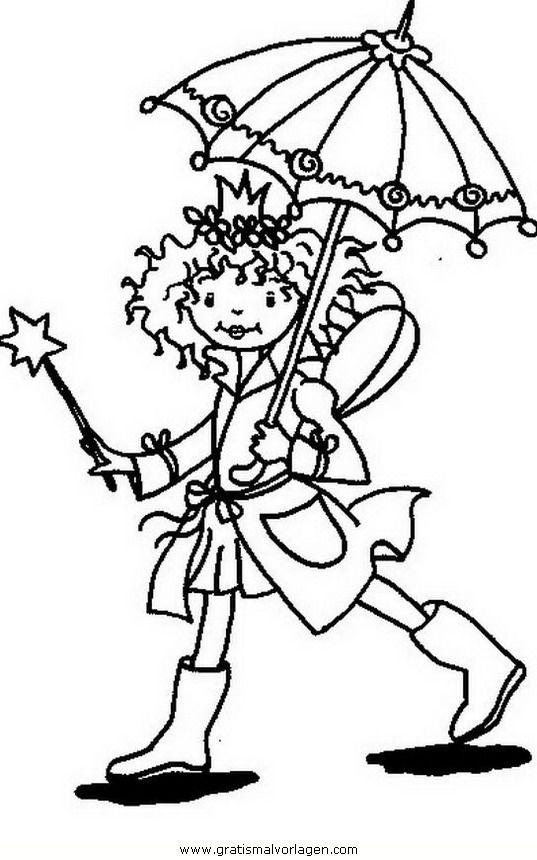 Prinzessin Lillifee 14in Trickfilmfiguren Gratis Malvorlagen Ausmalbilder Lillifee Ausmalen