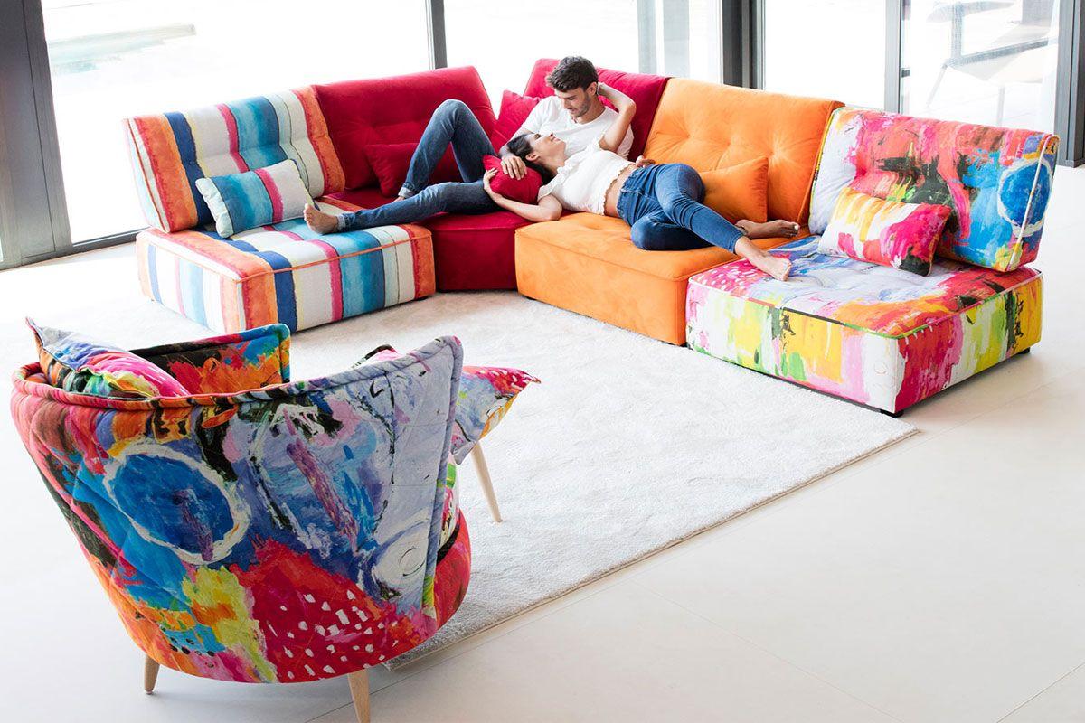 Modern Sectional Sofa Arianne Funky Living Room Furniture