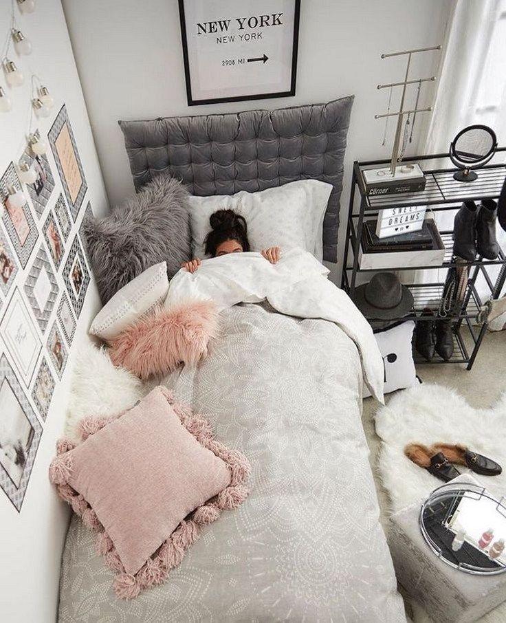 ✔44 chic bedroom decorating ideas for teen girls 19 #bedroomideas #bedroomforteens images