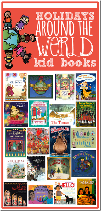 Holidays Around the World books...AWESOME readalouds