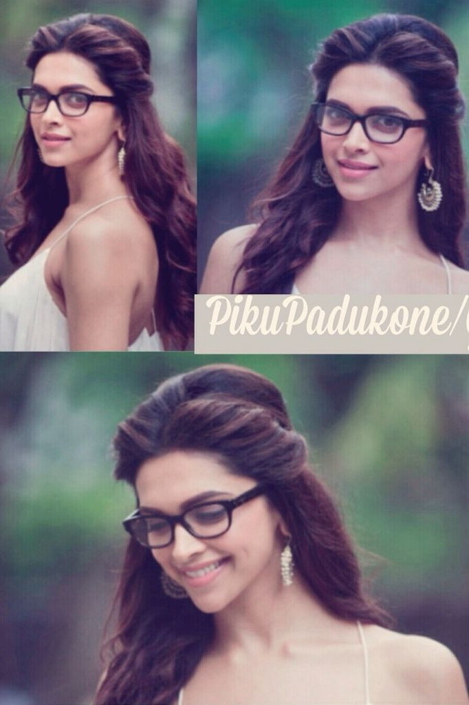 Deepika Padukone In Glasses Photoshoot Poses Poses Deepika Padukone
