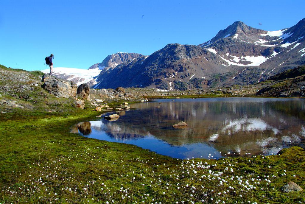 Groenlândia, paisagem surreal.