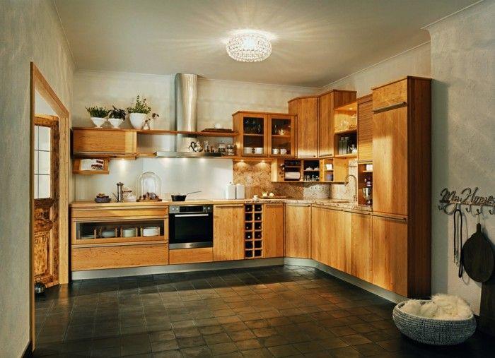 Küchen In Holzoptik. 20 moderne kücheninsel designs - ländlich ...