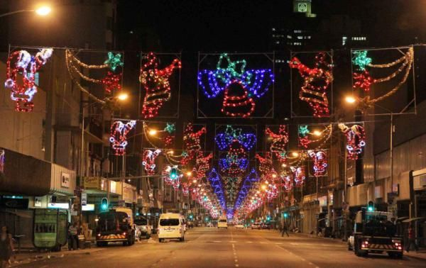 Most cities around the country proudly display christmas for African christmas decoration