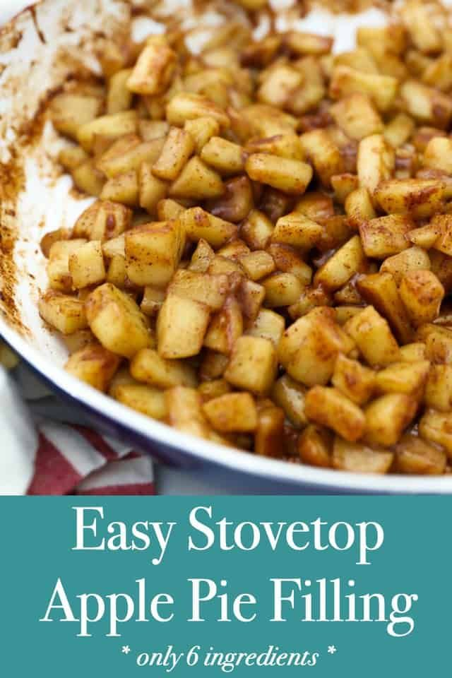 Homemade Apple Pie Filling - Easy Stovetop Recipe!