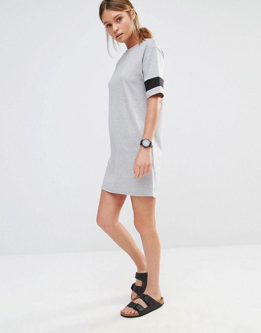 New look varsity sweat dress fashion pinterest sweat dress