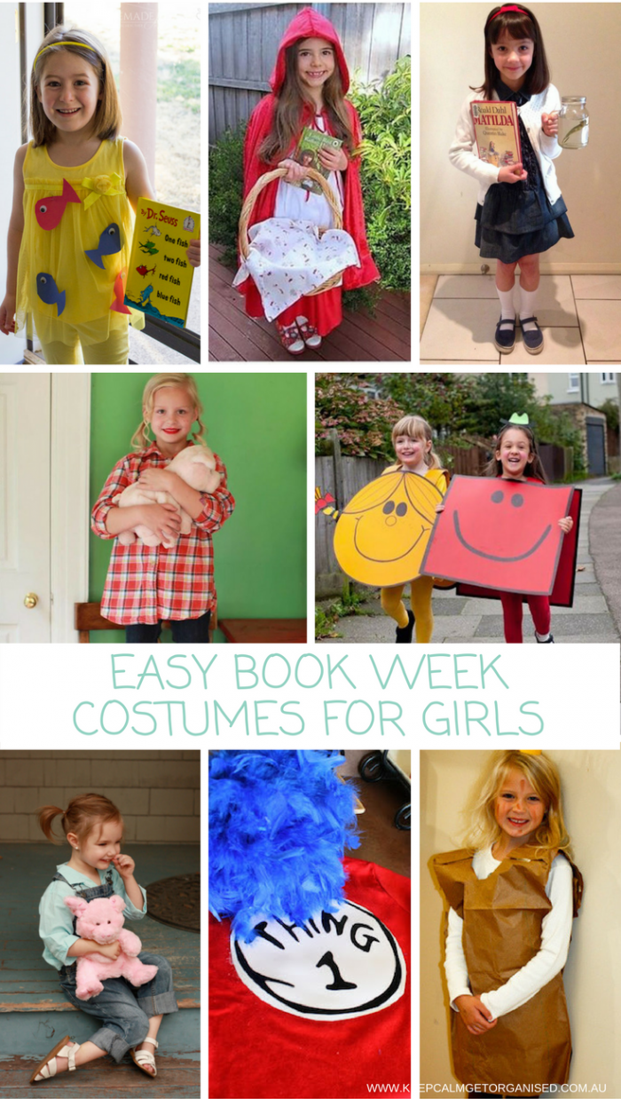 special section super specials clearance sale Easy Book Week Costumes For Girls | Kids book character ...