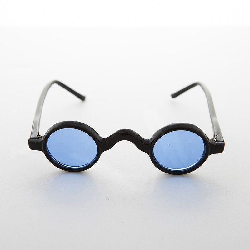 7e0efeb8d7a9 Victorian Round Colored Lens Ozzy Osbourne Vintage Sunglass -SHIVA Cat Eye  Glasses