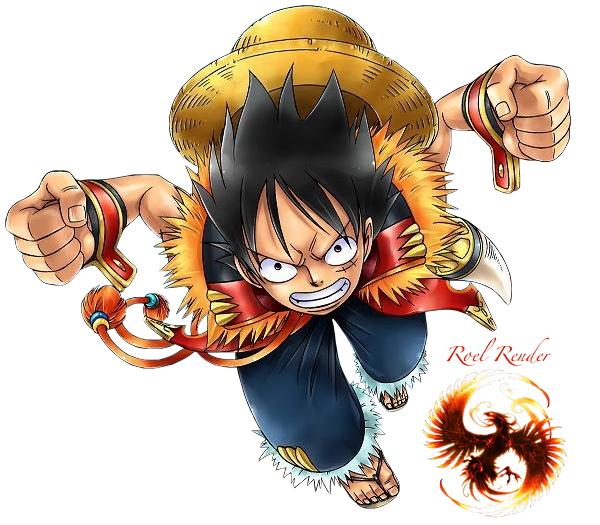 Fighting Style Monkey D Luffy In Anime One Piece