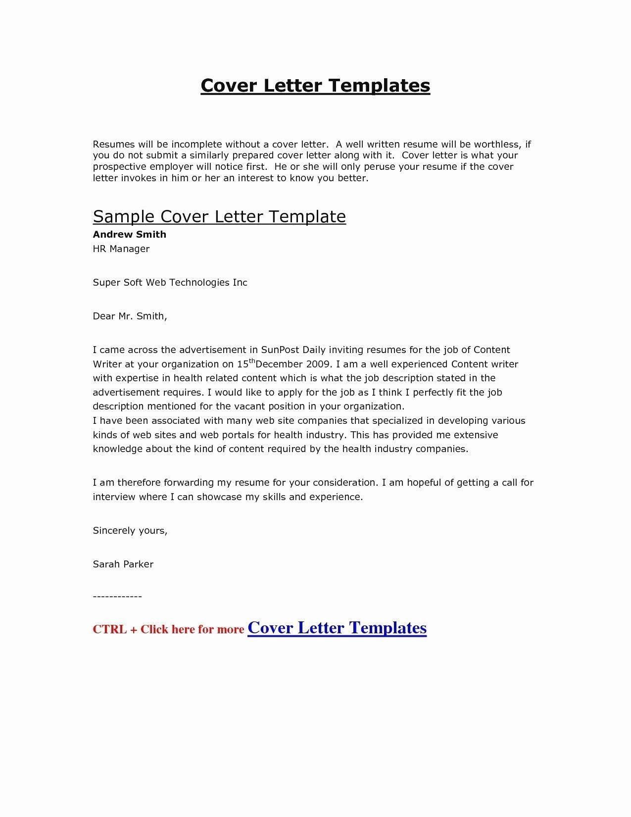 Cover Letter Template Uk 2018 Job Cover Letter Cover Letter For