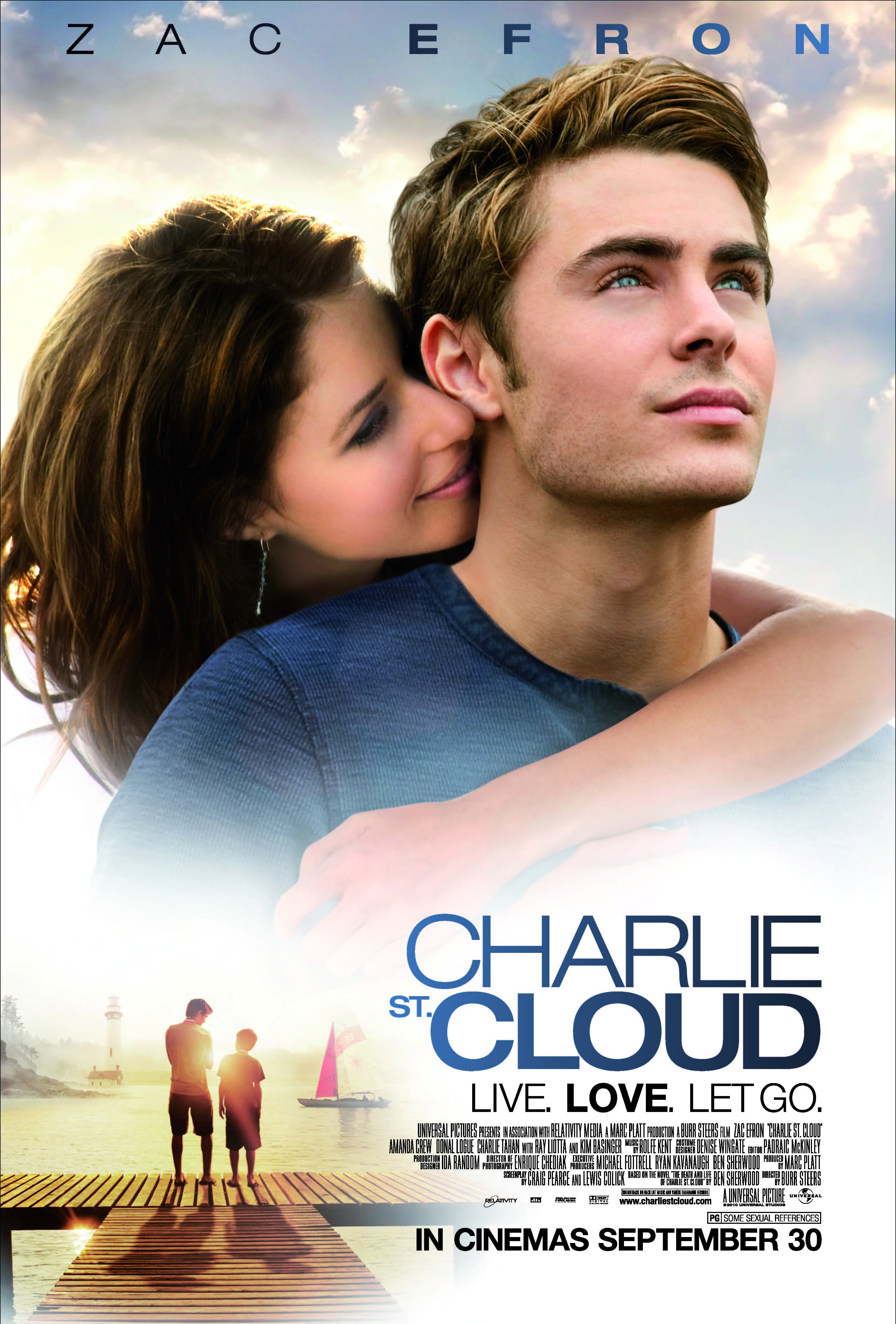 Charlie St Cloud Makes Me Cry But An Amazing Book And Movie
