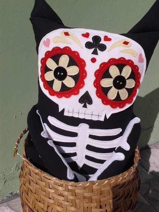 Caveira mexicana - Tosco Gato