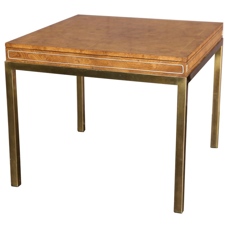 Mid Century Modern Game Table Or Card Table From A Unique