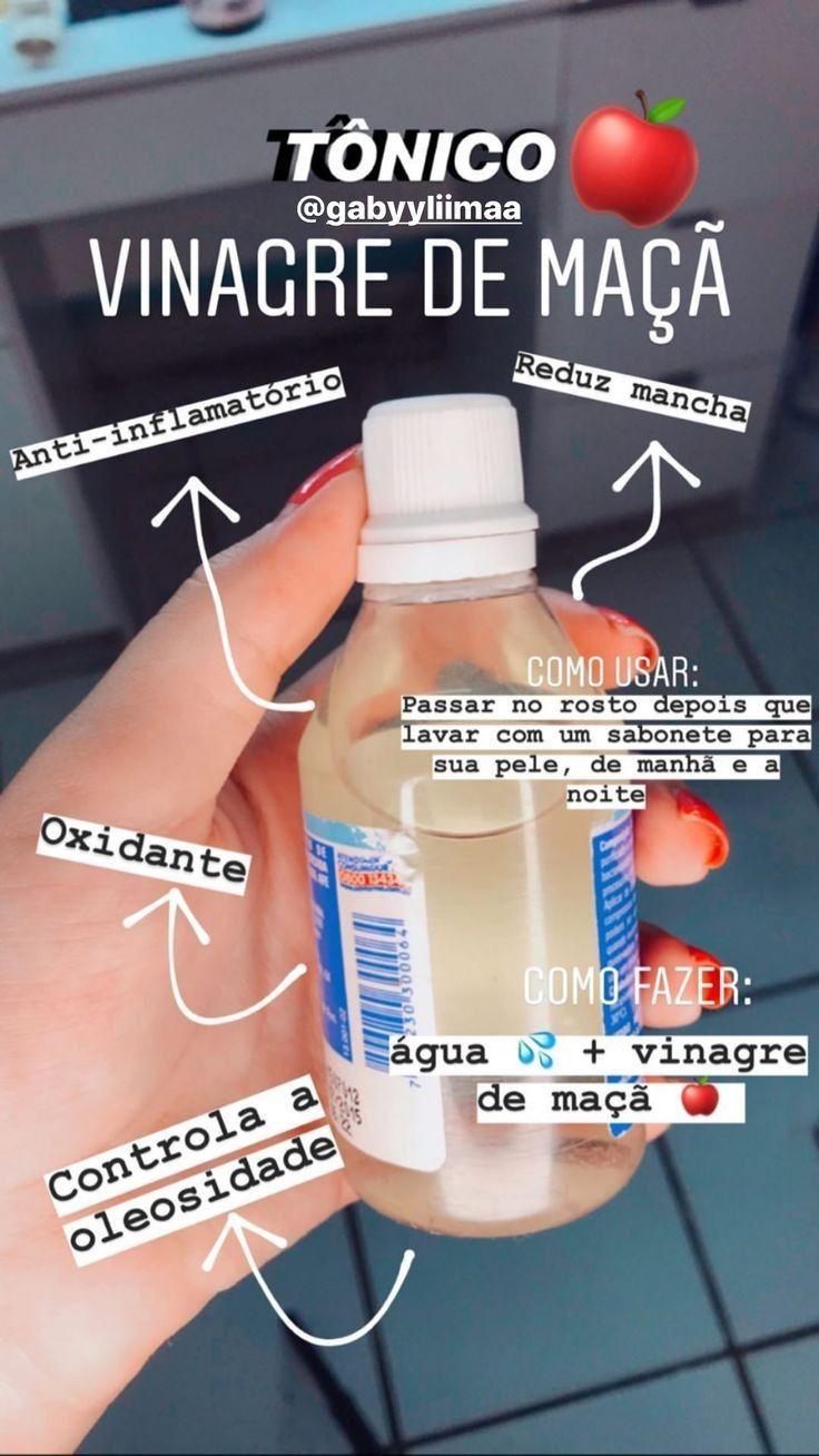 Photo of Tônico de Vinagre de Maçã