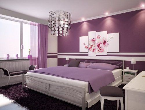 Pintomicasacom Como Combinar Paredes En Violeta Hot Bedroom - Que-colores-combinan-con-el-lila