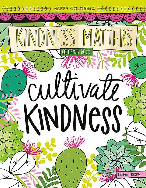 Happy Coloring Kindness Matters Book