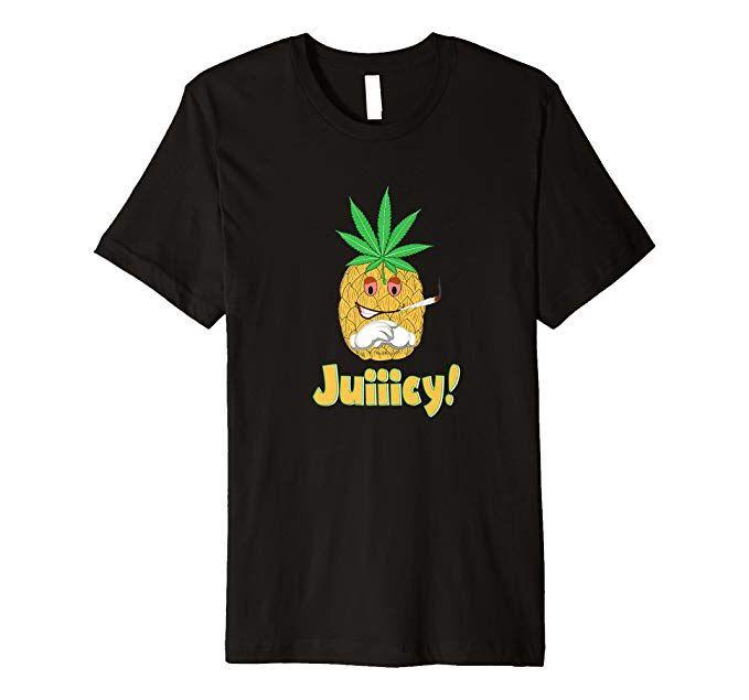 Stoner Gift Ideas 2020 Pineapple Smoking Weed Pothead Stoner Gift Shirt | Stoner T Shirts