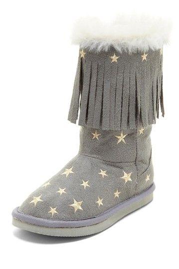 057a9b40d Stars Fringe Boot | KIDS CLOTHES | Kids boots, Shoe boots, Shoes