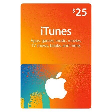 $25 iTunes Gift Card : Target | Wish List 2017 | Pinterest ...