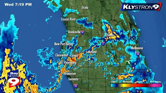 Tampa Bay Weather Radar | Klystron 9 | Florida | Pinterest