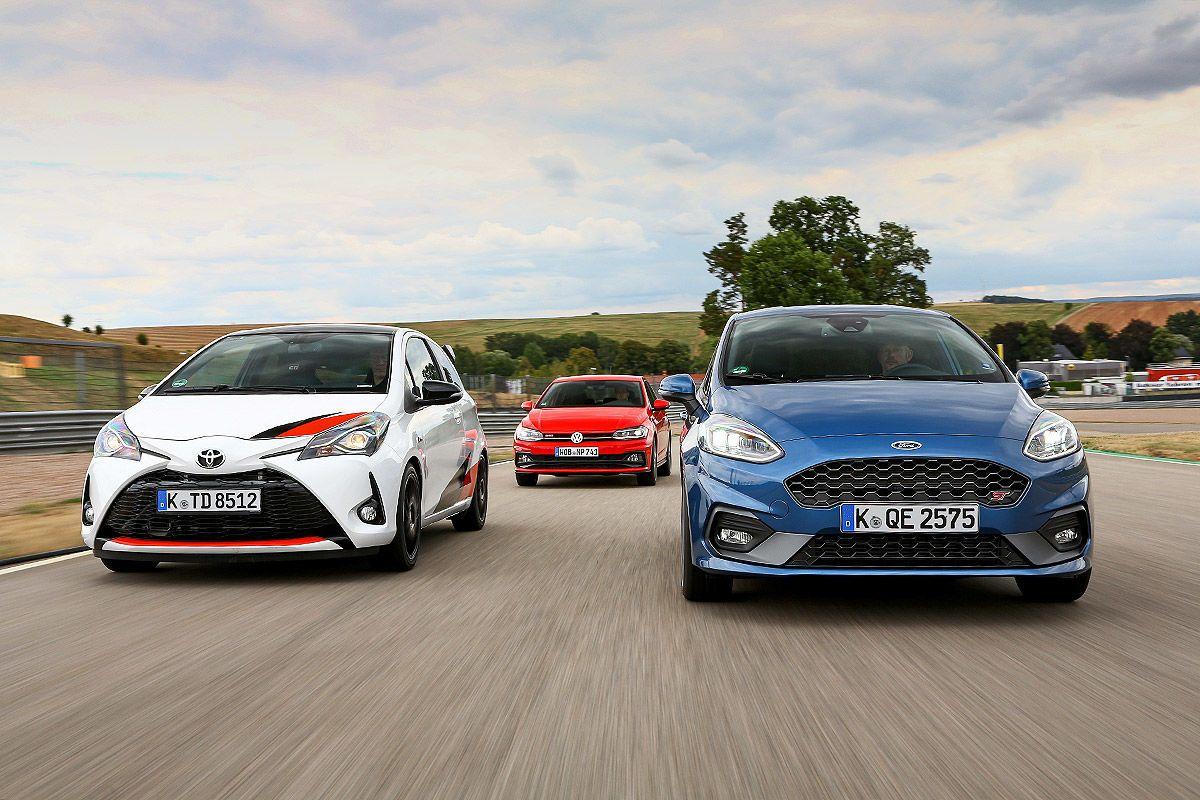 Ford Fiesta St Vs Toyota Yaris Grmn Y Vw Polo Gti