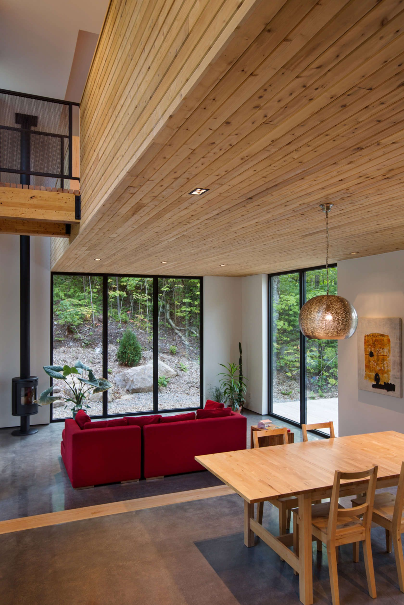 La Chasse Galerie By Thellend Fortin Architectes   Saint Adolphe Du0027Howard